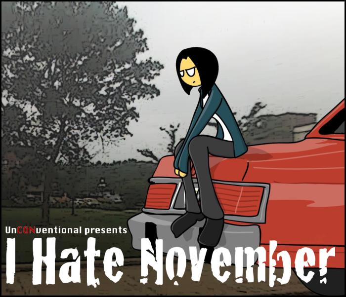 I Hate November (Cover)