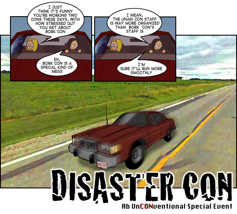 Disaster Con – Organized